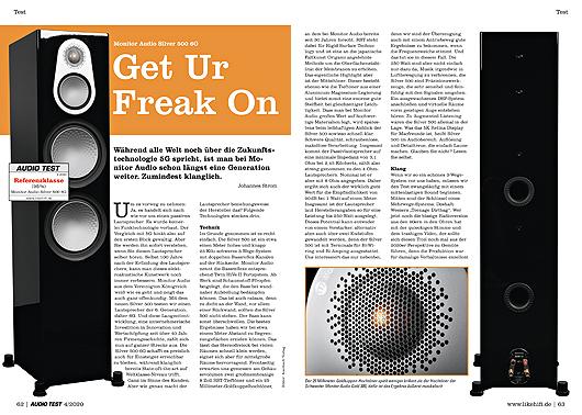 Monitor Audio Silver 500 6G finden Sie ab Seite 62