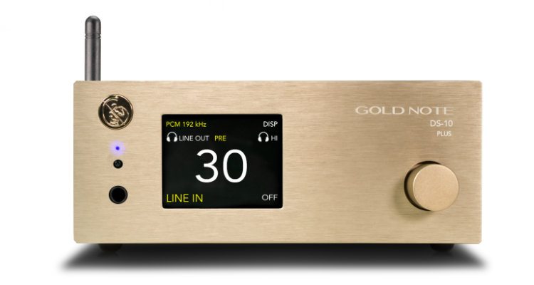 Gold Note DS-10 PLUS DAC Streamer DA Wandler TAD-Audiovertrieb News Test Review