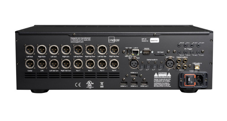 Lyngdorf Audio MP-40 - Anschlüsse Back Rear News Test Review
