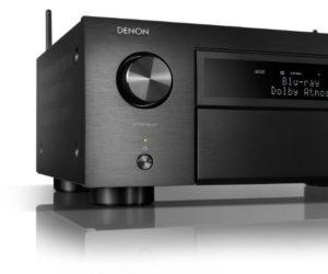 Denon AVC-X6700H Schwarz Black 8K AVR AV-Receiver Front Test News Review