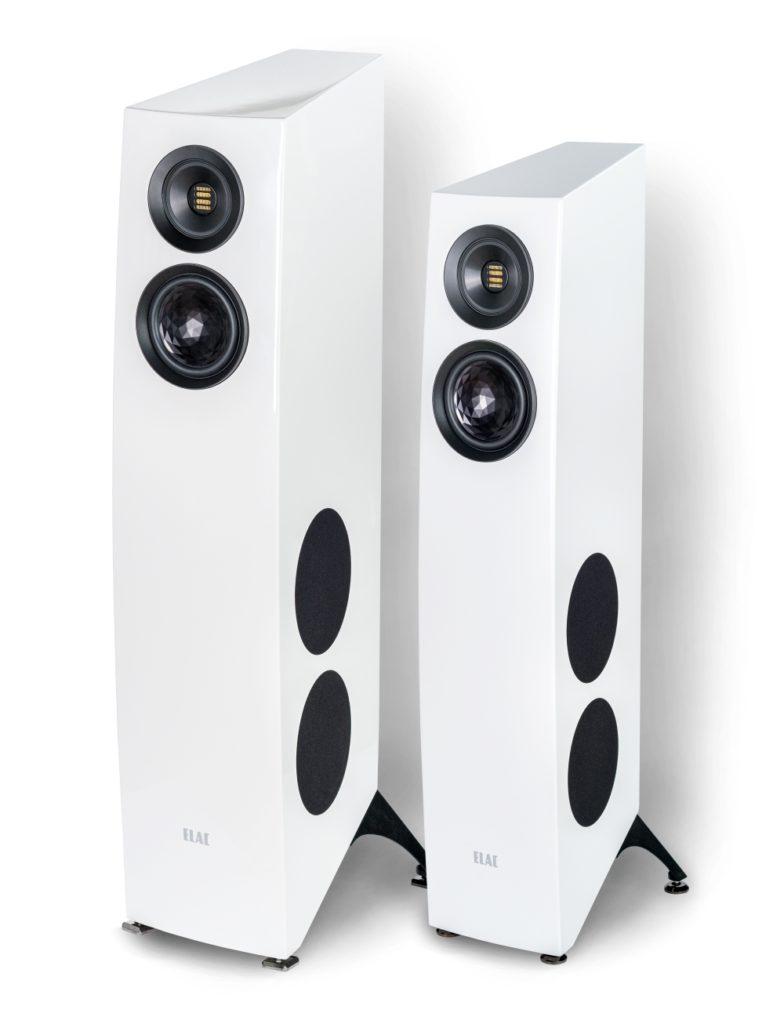Elac Concentro S 509 Standlautsprecher Lautsprecher Speaker Weiß News Test Review
