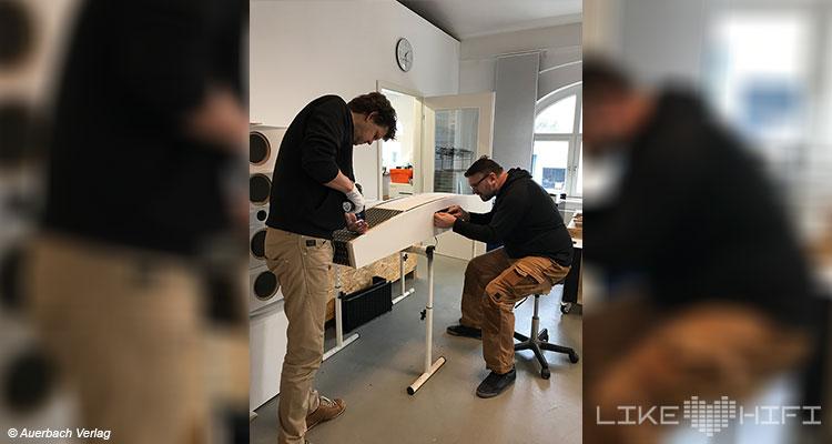 Lyravox Soundmaster Lautsprecher Speaker High End Vor Ort Hamburg Showroom Hörraum Aktivlautsprecher Active
