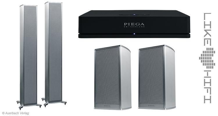 Piega Premium Wireless 501 301 Connect Lautsprecher Speaker Aktivlautsprecher Rückseite Test Review News Wireless