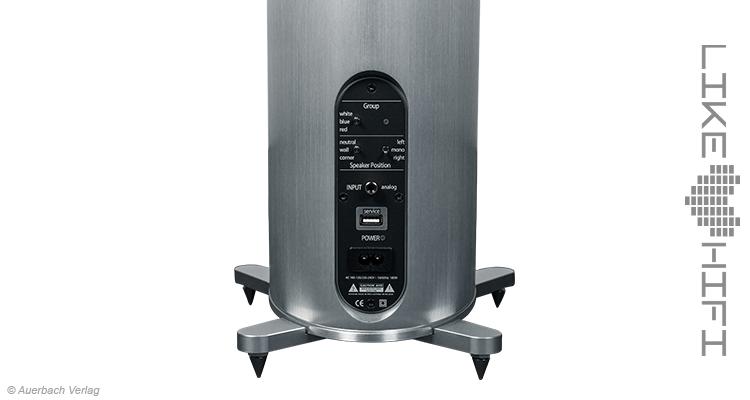 Piega Premium Wireless 501 Lautsprecher Speaker Aktivlautsprecher Rückseite Test Review News Wireless
