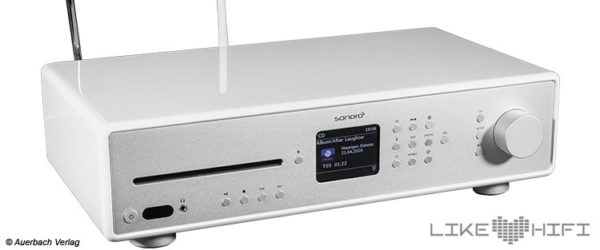 Test Sonoro Maestro All-In-One HiFi Receiver Kompaktanlage Testbericht Review