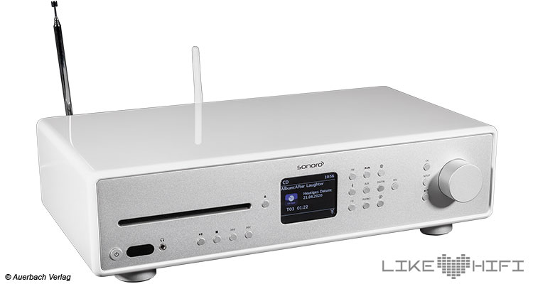 Test Sonoro Maestro All-In-One HiFi Receiver Kompaktanlage Testbericht Review