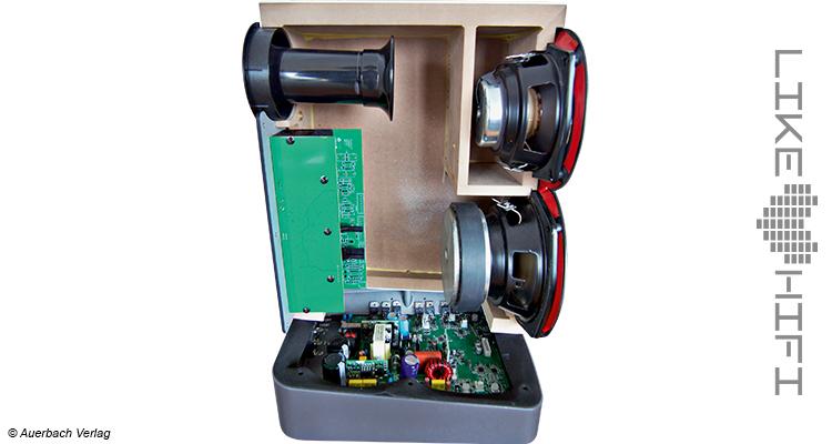 Elac Navis ARB-51 Aktivlautsprecher Test Review Testbericht Aktiv Regallautsprecher Kompaktlautsprecher Innen Treiber