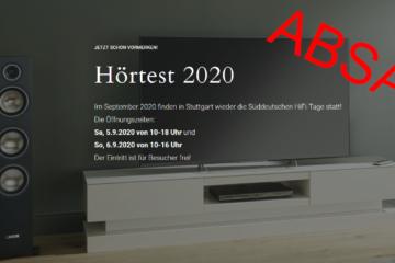 Absage Süddeutsche Hifi-tage 2020 SHDT Corona Messe HiFi Stuttgart Holiday Inn