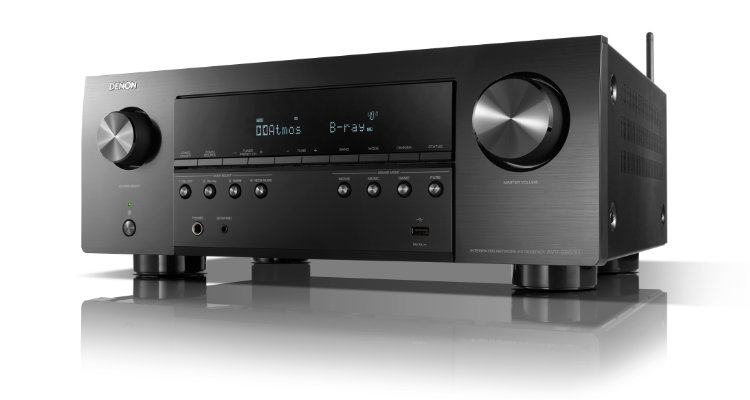 Denon AVR-S960H Rückseite AV-Receiver S-Serie Rear Back News Test Review