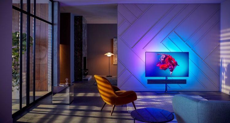 TP Vision (Philips) Bowers & Wilkins B&W Kooperation Zusammenarbeit OLED TV Fernseher Ambilight Sound