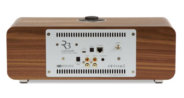Ruark Audio R3 MK1 Musik-System Radio Rückseite