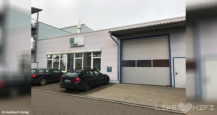 Gauder Akustik Lautsprecher Vor Ort Besuch Renningen Showroom Hörraum Passivlautsprecher High End Isophon Firmengebäude