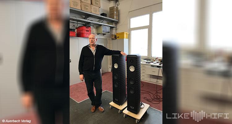 Gauder Akustik Lautsprecher Vor Ort Besuch Renningen Showroom Hörraum Passivlautsprecher High End Isophon Lautsprecherbau Manufaktur Dr. Roland Gauder