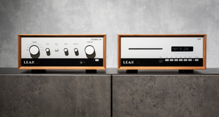 Leak Verstärker Stereo 130 und CD-Transport CDT News Test Review