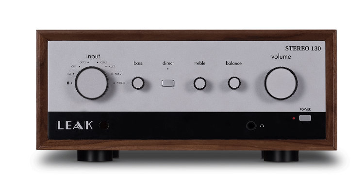 Leak Stereo 130 Vollverstärker Front Test Review News IAD