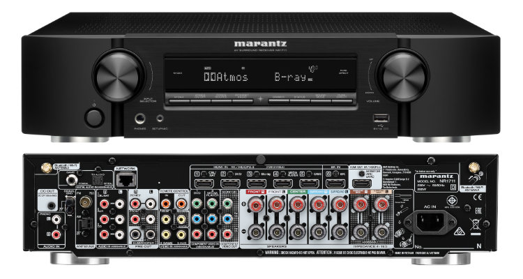 AV-Receiver Marantz NR1711 AVR Heimkino News Test Review