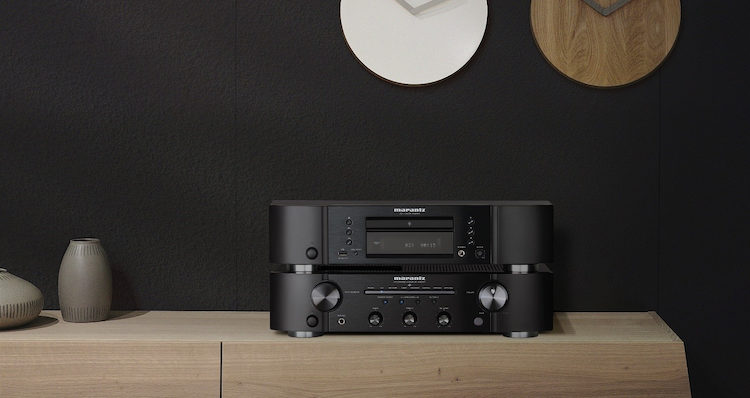 Marantz PM6007 Vollverstärker Amp CD-Player CD6007 News Test Review Front Display