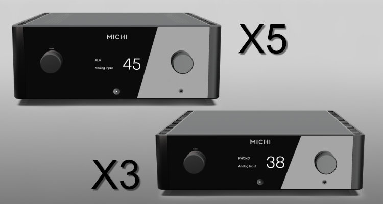Rotel MICHI X5 X3 Verstärker Amp Review Test News