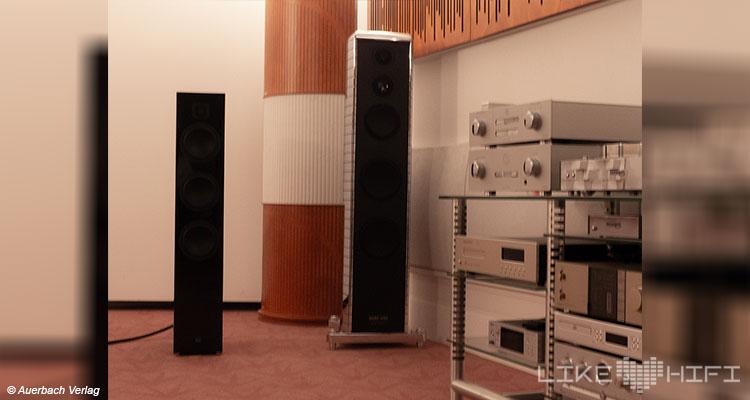 Gauder Akustik Lautsprecher Vor Ort Besuch Renningen Showroom Hörraum Passivlautsprecher High End Isophon Lautsprecherbau Gauder Akustik Arcona 100 Mk II