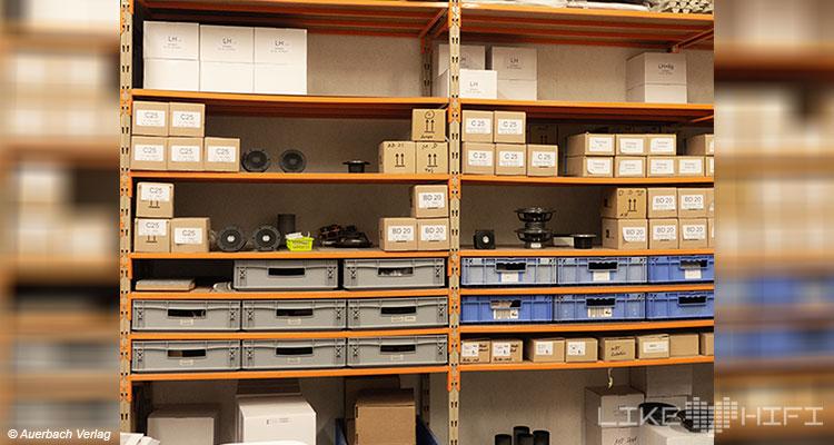 Gauder Akustik Lautsprecher Vor Ort Besuch Renningen Showroom Hörraum Passivlautsprecher High End Isophon Lautsprecherbau Manufaktur Werkstatt