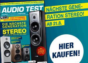 AUDIO TEST Magazin Heft Ausgabe 6/20 2020 Kaufen bestellen Abo HiFi Messen Stereo HiFi