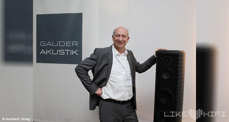 Gauder Akustik Lautsprecher Besuch AUDIO TEST Likehifi Vor Ort Renningen Roland Gauder Showroom Hörraum