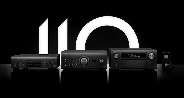 Denon 110 Jahre Jubiläum AV-Receiver Vollverstärker SACD-Player Tonabnehmer