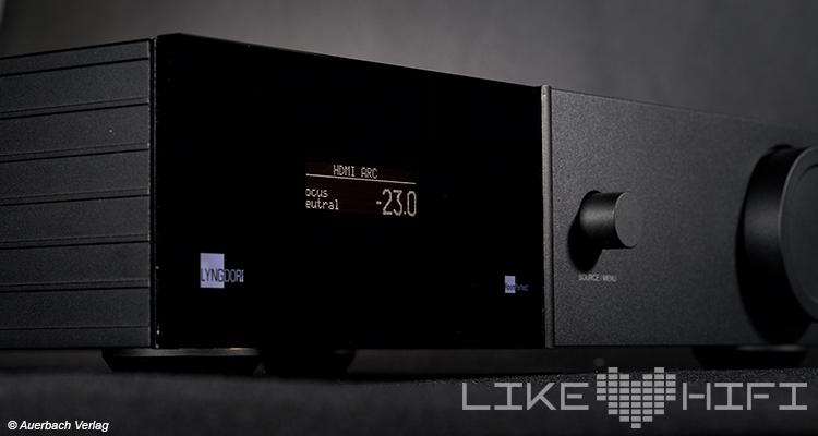 Test Lyngdorf Audio TDAI-2170 Vollverstärker Amp Verstärker Raumkorrektur Display