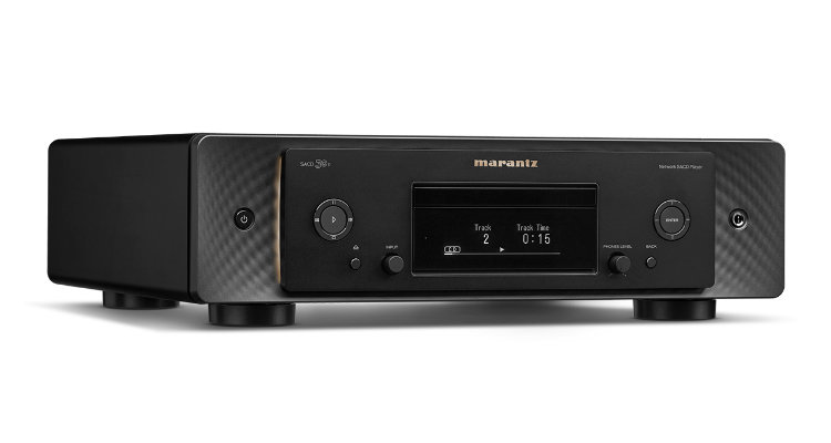 Marantz Netzwerk-SACD-Player SACD 30n Front Display News Test Review