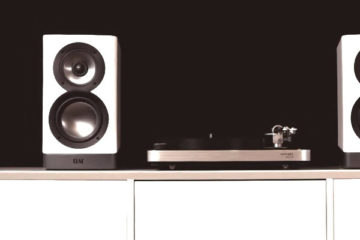 clearaudio concept active Plattenspieler + ELAC Navis Aktiv-Lautsprecher Aktivboxen Set Kombi News Test Review