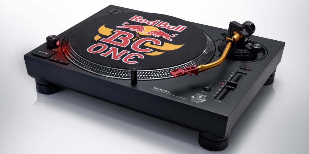 Technics Red Bull BC One SL-1210MK7R Plattenspieler Turntable Sondermodell News Test Review