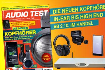 AUDIO TEST Magazin 7/20 2020 HiFi Kopfhörer Kaufen Shop bestellen Abo