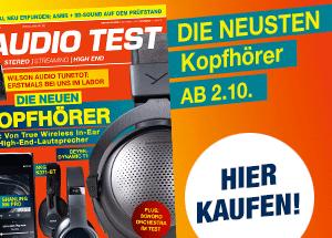 AUDIO TEST Magazin Ausgabe 7/20 Heft HiFi Kaufen