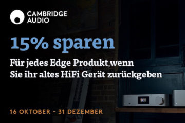 Cambridge Audio Edge Trade-in-Programm Aktion kaufen sparen Fachhandel