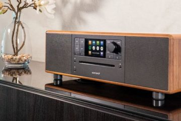 Sonoro Prestige Walnuss Radio Digital CD-Player All-In-One