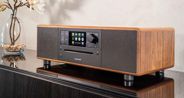 Sonoro Prestige Walnuss Radio Digital CD-Player All-In-One