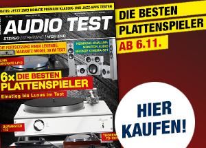 AUDIO TEST Magazin Ausgabe 8/20 Heft HiFi Kaufen Plattenspieler Vinyl Test