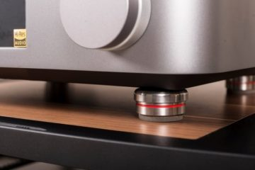 Bassocontinuo Ultra Feet Foot Gerätefüße Under Unit Audio Reference Hifi Tuning News Test