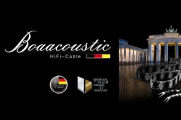 Boaacoustic Kabel Evolution BLACK.serie HiFi JIB-Germany News test