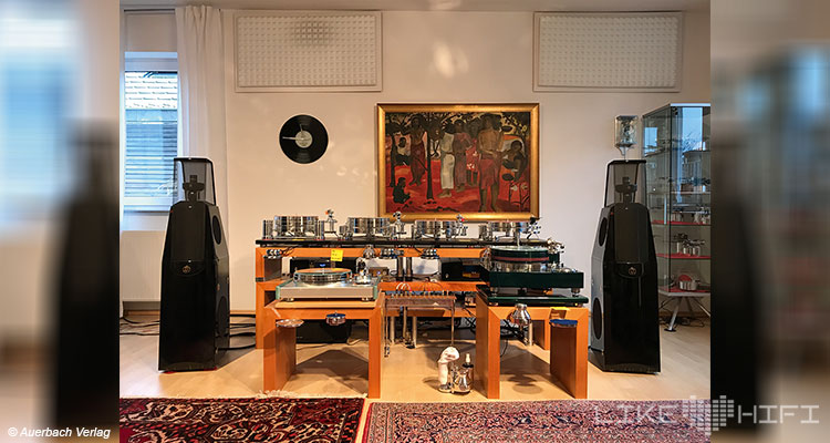 Acoustic Solid Plattenspieler Vor Ort Besuch Altdorf Showroom Hörraum Turntable Tonmaschinenbau Karl Wirth High End