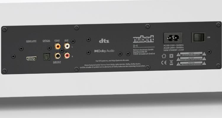 Nubert Soundbar nuPro AS-3500 kaufen News Test Review Anschlüsse