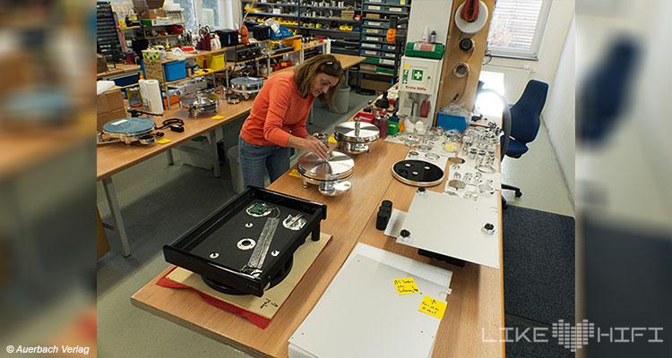 Acoustic Solid Plattenspieler Vor Ort Besuch Altdorf Vinyl Turntable Tonmaschinenbau Wirth High End Behind The Scenes Produktion