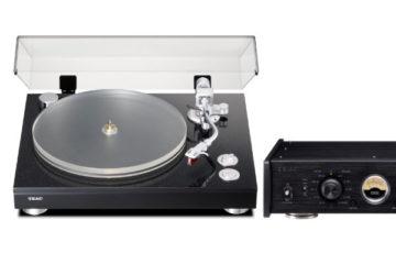 Teac Plattenspieler TN-5BB und Phono-Verstärker PE-505