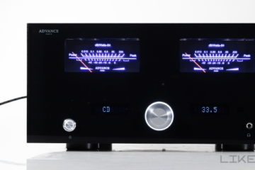 advance paris x-i1100 verstärker test review amp stereovollverstärker
