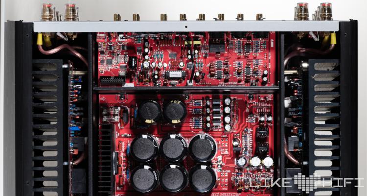 Advance Paris X-i1100 Vollverstärker Amp Test Review Schaltung Trafo