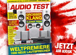 AUDIO TEST Magazin Ausgabe 1/21 2021 Dezember Heft HiFi Kaufen Kompakt Vinyl Test