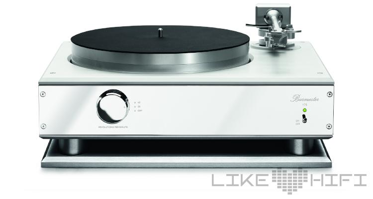 Burmester 175 Schallplattenspieler Plattenspieler Turntable Hifi Review Test