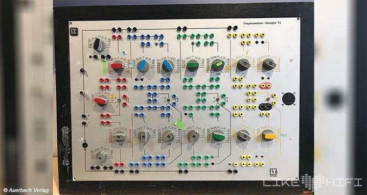 Nubert electronic Lautsprecher Vor Ort Besuch Schwäbisch Gmünd Showroom Thomas Bien Entwickler Messung Frequenzweiche