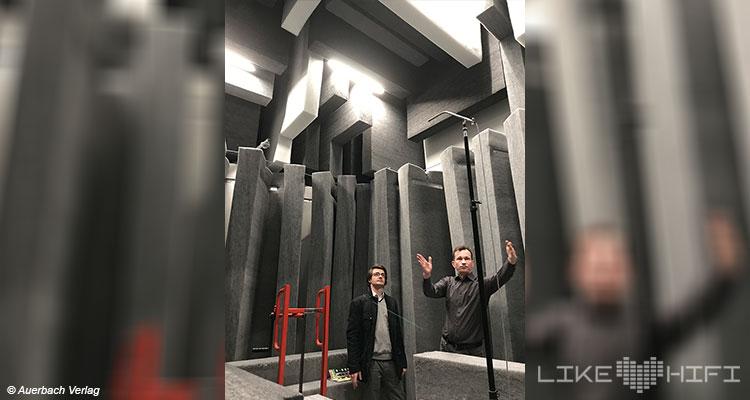 Nubert electronic Lautsprecher Vor Ort Besuch Schwäbisch Gmünd Showroom Thomas Bien Entwickler Messraum