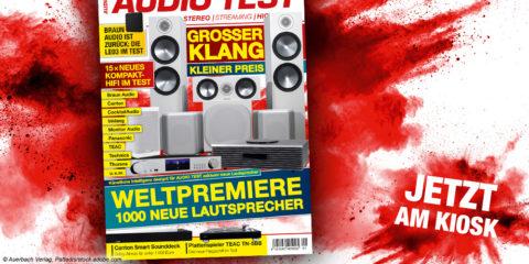 AUDIO TEST Magazin 1/21 2021 HiFi Plattenspieler Test Vinyl Kaufen Shop bestellen Abo Lautsprecher Test Dezember